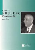 Presto in B Flat: Piano Solo