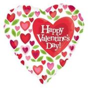 46cm Valentine Heart Flowers Vlp