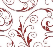 Red Jewels (60cm X 100') Cellophane Roll Wrap