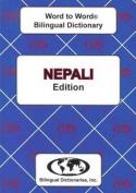 English-Nepali & Nepali-English Word-to-Word Dictionary
