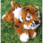 Huggables Tiger Stuffed Toy Latch Hook Kit, 41cm Long