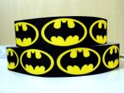 5 yards 7/8 NEW Batman Grosgrain Ribbon