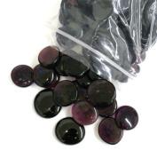 Glass Gems, 4.75 Lb. Bag, Purple, Amethyst and Lilac