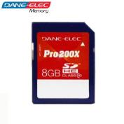 Dane-Elec 8 GB Class 10 Pro 200X SD SDHC Memory Card