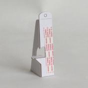 StoreSMART® - EASEL BACKS - White 10cm , Self-Stick, Extra-Heavy, Single-wing - 2X stronger! - 25-Pack - EBSW4-25