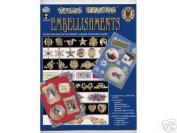 241 Embellishments Scrapbook Stamping Card Making
