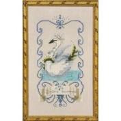 Seven Swans a Swimming Cross Stitch Pattern