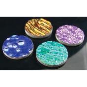 Fuseworks Dichroic Texture Pack 2.5cm 4pc-Round