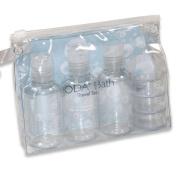 JODA Clear PVC Travel Bottle & Cream Pot Set