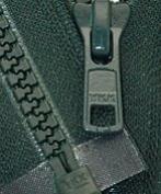 46cm Vislon Zipper ~ YKK #5 Moulded Plastic ~ Separating - 890 Dark Green Hemlock