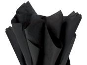 Black Tissue Paper 38cm X 50cm - 100 Sheet Pack