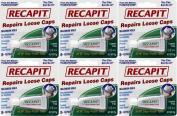 Dentemp Recapit 8+ Repairs Loose Caps x 6 Packs