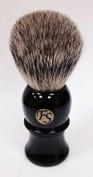 Pure Badger Shaving Brush - Black Handle 22mm Knot From FS