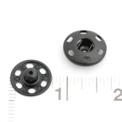 60 Sets of High Quality Sew-on Snaps, 19mm, Gunmetal
