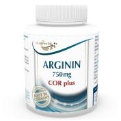 Arginine 750mg 120 capsules COR plus + Vit. B6 + B12 + Folic Acid + Black Pepper Extract 120 capsules Vita World German pharmacy production
