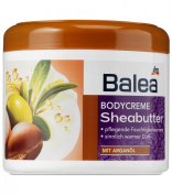 Balea Everyday Body-Cream Shea Butter with Argan Oil - Not Tested on Animals / Skin Compatibility Dermatologically Approved - (LARGE) - 500ml