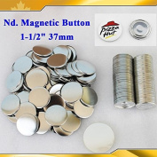 """Asc365 100sets Nd. Magnetic 1-1/2"""" 37mm Magnet Parts Supplies for Maker Machine"""