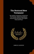 The Restored New Testament