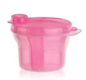 Babykings Powder Formula Dispenser and Snack Cup Dispenser Portable Travel Container Bottle Storage Pink