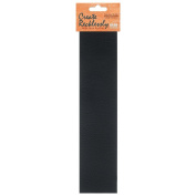 Create Recklessly, Symphony Faux Leather 25cm x 5.1cm Strip, 1 Piece, Black