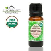 US Organic 100% Pure Citronella Essential Oil - USDA Certified Organic - 10 ml