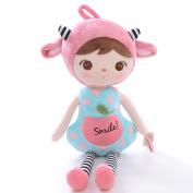 Metoo JIBAO Stuffed Pink Sheep Girl Kids Plush Toys Baby Birthday Gifts 41cm
