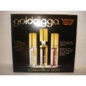 GOLDDIGGA ILLUMINATION LIGHT UP LIP GLOSS SET - 3PC SET ~ SPECIAL OFFER by Golddigga