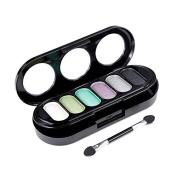 Eyeshadow Palette - M.N fashion 6 Colour Matte Pigment Eyeshadow Palette Cosmetic Makeup Eye Shadow for women£¨2#£©