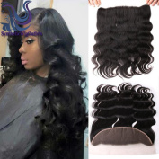 Free Part Lace Frontal Closure 13x4 With Baby Hair Body Wave Virgin Brazilian Human Hair Full Lace Closure Ear to Ear Natural Colour No Bleached Knots