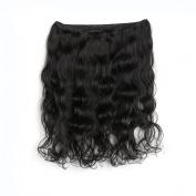 Rosette Hair Body Wave Brazilian Human Hair Extension 100% Unprocessed Virgin Remy Hair Weaves Natural Black Colour 100g/Bundle