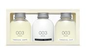 TAMANOHADA Amenities 003 Rose - Shampoo, Conditioner, and Liquid