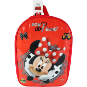 Children's Disney Minnie Mouse Backpack Travel Bag with Adjustable Straps