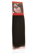Yaki Weave Barely Black (1B) 36cm   Relaxed Hair Extensions   Human Hair Extensions   36cm American Pride 1B