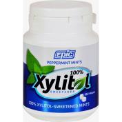 Epic Dental Mints - Peppermint Xylitol Bottle - 180 Count