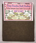Quilt Backing, Large, Seamless, C44395-714, Dark Brown