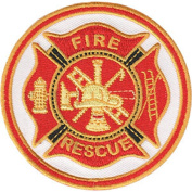 Firemen Seal - Iron on or Sew on Embroidered Patch