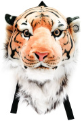 Viahart Authentic Tigerdome Orange Bengal Tiger Backpack And Wall Mount