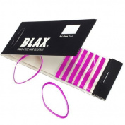 4mm PINK Hair Elastics 8 pcs by Blax by Blax