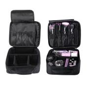 Imcolorful Makeup Cosmetic Bag Train Travel Case Waterproof