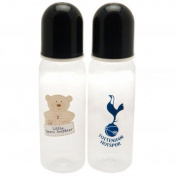 Tottenham Hotspur F.C. 2pk Feeding Bottles Official Merchandise